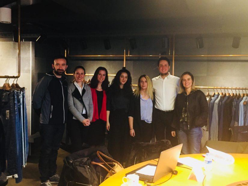 Özyeğin Üniversitesi Öğrencilerinin Orta Anadolu'ya Sunumu