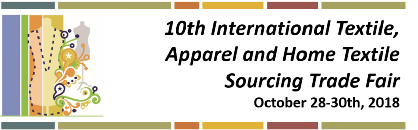 Egytex- 10th International Textile, Apparel and Home Textile Sourcing Trade Fair – October 28-30th, 2018